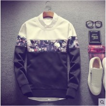 Men's Korean Trend  Round Neck Pullover over Sweater Plus Size