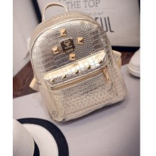 Women Korean Fashion Waterproof  Small  Square Campus Bag