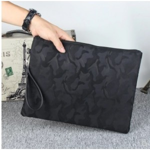 Men's Korean Trend Camouflage Hand Bag