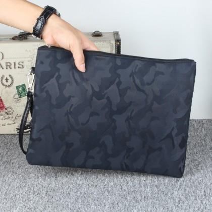 Men's Korean Trend Camouflage Hand Bag