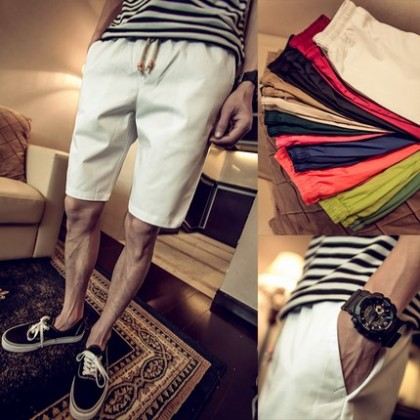 [READY STOCK] Casual Men Short Pants Plus Size Beach