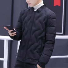 Men's Korean Trend Youth Pop Fashion Cotton Pad Jacket Long Sleeve