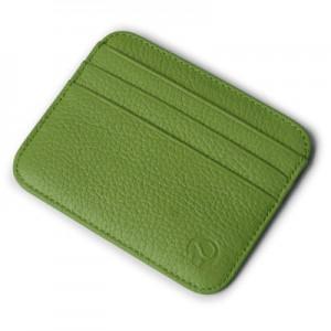 Men's Korean Trend Soft Leather 6 Layer Set Clip Bank Card Holder