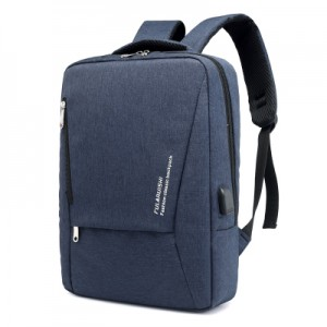 Men's Korean Trend Soft Cloth Business Travel Bag With Back Cushion