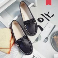 Women Korean Fashion Retro Casual Shallow Mouth Low Heel Pedal Shoes