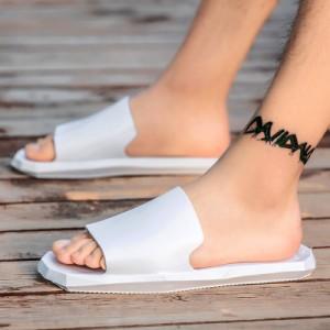 Men's Korean Youth Drag Style  Roman Slippers Couples Plus Size