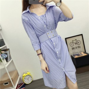 Women Korean Fashion Hanging Neck Bottom Skirt Two Piece Dress