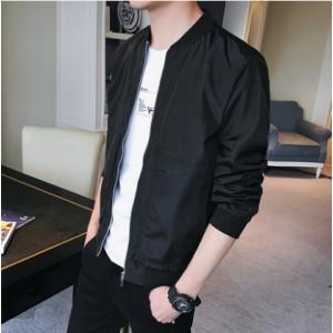 Men's Korean Youth Fashion City Style  Velvet Casual Jacket