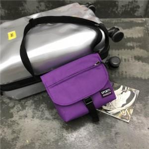 Men's Korean Trend Harajuku Style Unisex Canvas Messenger Bag
