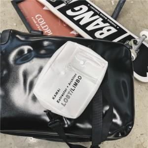 Men's Korean Trend Hip Hop Style Unisex Mini Cross Bag