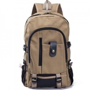 Men's Korean Fashion Trend CanvasComputer And Travel Backpack