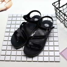 Women Korean Fashion Flat Bottom Sweet Simple Casual Jelly Shoes