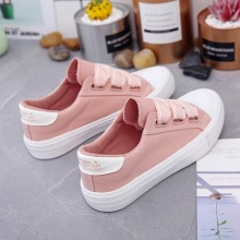 Women Korean Fashion Candy Color Wild Style Casual Canvas Shoes