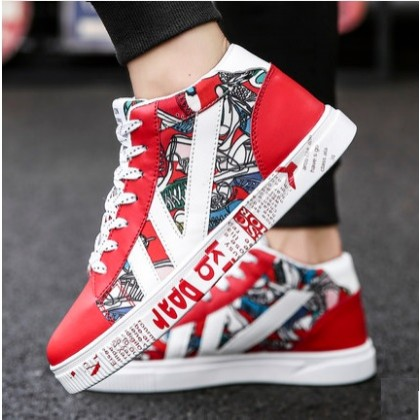 Men's Korean Youth Wild Style Trend Low Top Flat Canvas Shoes
