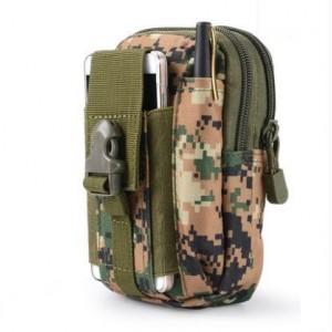 Men's New Multi Purpose  Sports Outdoor Belt Water Proof Tactical Pocket Bag