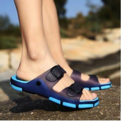 Men's Korean Youth Trend Summer Non Slip Drag Style Slippers