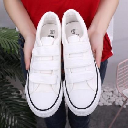 Men's Korean Wild Trend Velcro style Old School Shoes Unisex