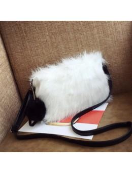 Women Korean Winter Fur Handbag