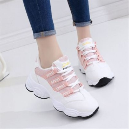 [READY STOCK] Women Breathable Sport Running Rubber Sneaker Shoes