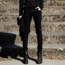 [READY STOCK] Men Korean Skinny Stretch Pants