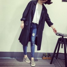 [READY STOCK] Korean Loose-fitting Long Jacket Cardigan Coat