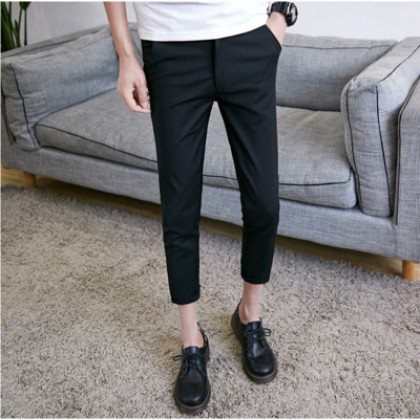 [READY STOCK] Men New Summer Nine Points Casual Pants