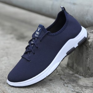 [READY STOCK] Men's V Basic Lace Up Spring Board Running Sport Shoes
