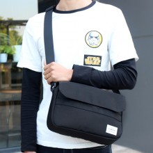 [READY STOCK] Men's Student Casual Bag Sports Waterproof Messenger Bag Shoulder  Bag