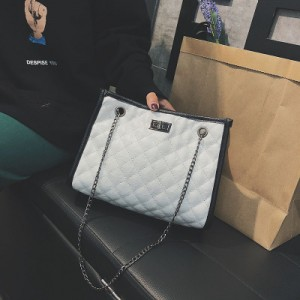 [READY STOCK] Women Summer Color Small Bag Embroidery Line Shoulder Bag Messenger Bag