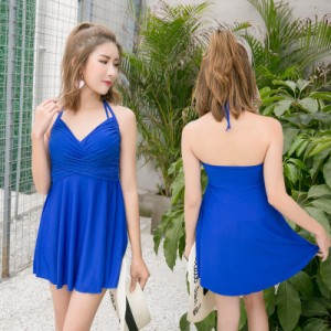Women Korean Fashion One Piece Sexy Waist Beach Swimwear