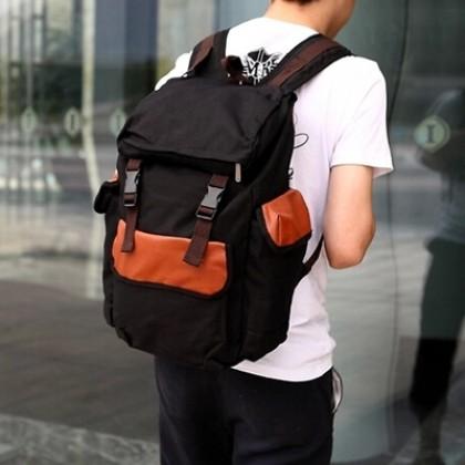 Student Men Backpack Bags