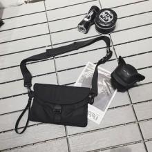 Men's Korean Trend Hip Hop Street Style Messenger Cross Body Sling Bag