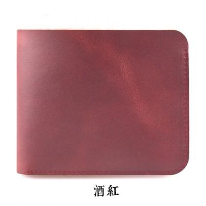 Handmade Short Leather Men Wallet