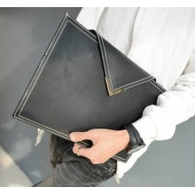 Envelope Short Leather Men Wallet