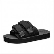 Men's Fashion Youth Trend Drag Style Non Slip Mesh Summer Slipper