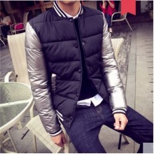 Men's Korean Youth Trend Casual Cotton  Padded Jacket