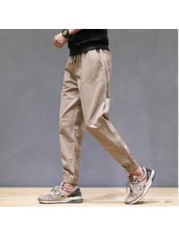 Men's Korean Youth Trend Basic Style Loose Fashion Retro Pants