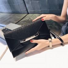 Women Korean Fashion Envelope Clutch  Wild Style Handbag