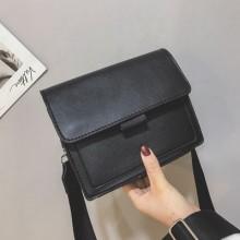 Women Korean Fashion Trend Wild Simple Retro Port Square Small Bag