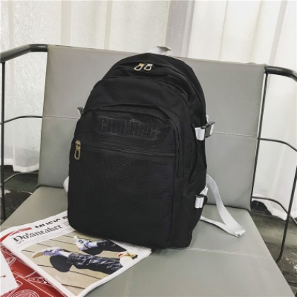 Women Korean Fashion Large Capacity Multi Layer College Backpack