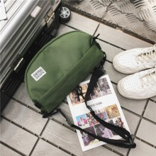 Men's Korean Fashion Trend Harajuku Style  Canvas Cool Crossbody Bag