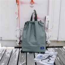 Men's Korean Fashion Trend  Multi Function Drawstring Fitness bag