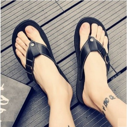 Men's Fashion Trend Fashionable Casual Non Slip Beach Slippers