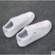 Men's Fashion Trend Fashion White Casual Canvas Sports Shoes