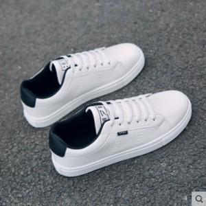 Men's Fashion Trend Fashion White Casual Canvas Sports Shoes