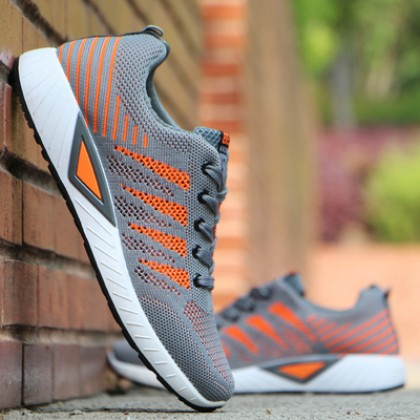 Men's Fashion Trend Fashion Wild Style Ultra Light Mesh Sports Shoes