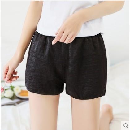 Women Korean Fashion Trend  Simple  Loose Thin Shorts