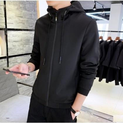Men Korean Fashion Trend Wild Style Slim Fit Casual Jacket