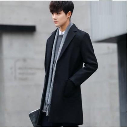 Men Korean Trend Wild Style Slim Fit Thick Fashionable Jacket