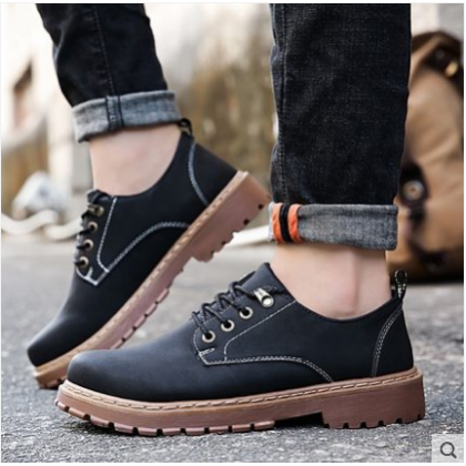 Men's Korean New Trend Thick Bottom Casual Martin Boots